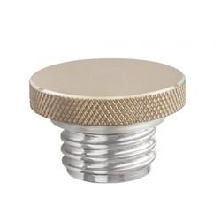 Custom Kraftstoff-Gas-Kappe - Billet Messing und Aluminium