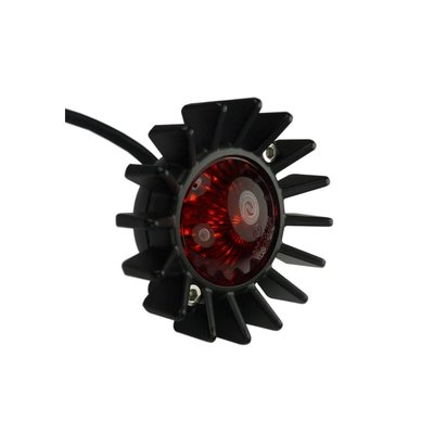 Motone Big Fin Rückleuchte - LED - Schwarz