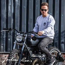 Pull Cafe Racers United gris