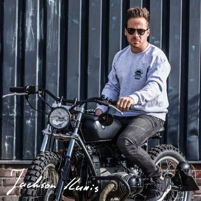 MCU Pull Cafe Racers United gris