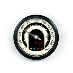 MST Speedster Black Anodised