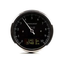 Chronoclassic Tacho Geplijst 10.000 RPM