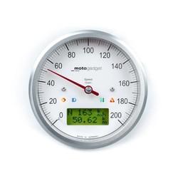 Indicateur de vitesse Motoscope Classic poli