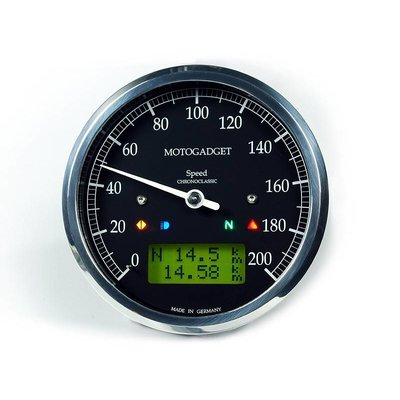Motogadget Chronoclassic Speedo Polished