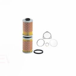 Kit de filtre à huile OX36D deux pièces pour BMW R2V avec radiateur d'huile