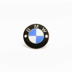 Emblem BMW 70 mm, /5 models, enamelled, screw fastening