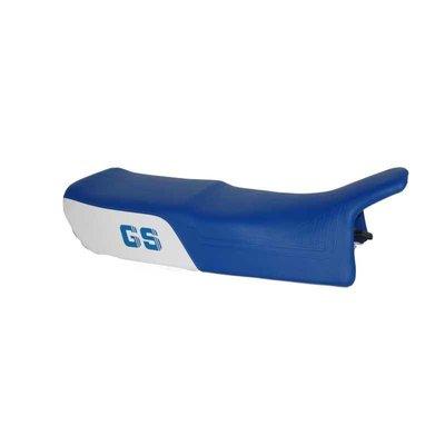 Siebenrock Doppelsitzbank GS Paralever, weiß-blau, hoch mit LOGO
