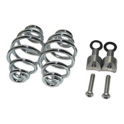 "Spiral Springs Chrome 4"" with Mounting"