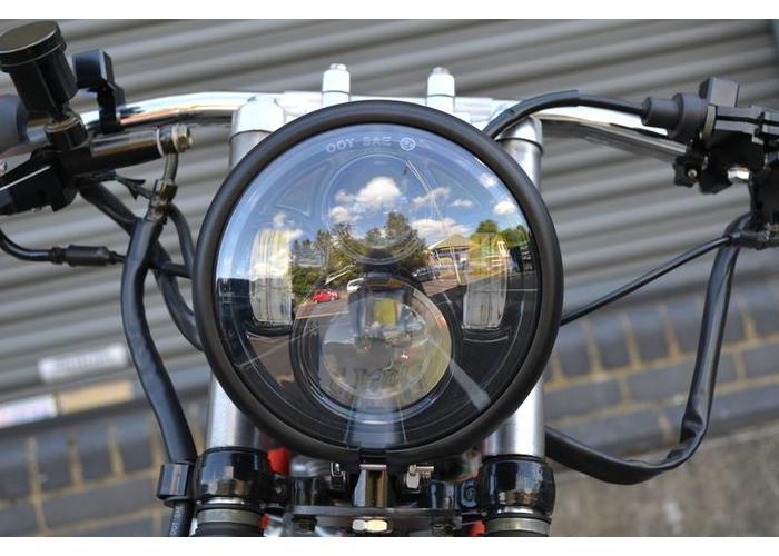 """5,75 """"CREE LED BATES Style Scheinwerfer-UNTEN-AUFFASSUNG"""