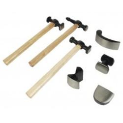 Kit marteaux + têtes - 7 pièces