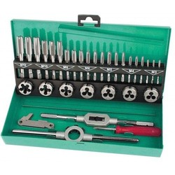 Threading set with hex die nuts 32 pcs