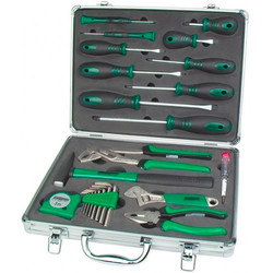 Toolset 24 pieces with aluminium case