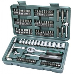 Socket set 130 pieces 1/4 ""
