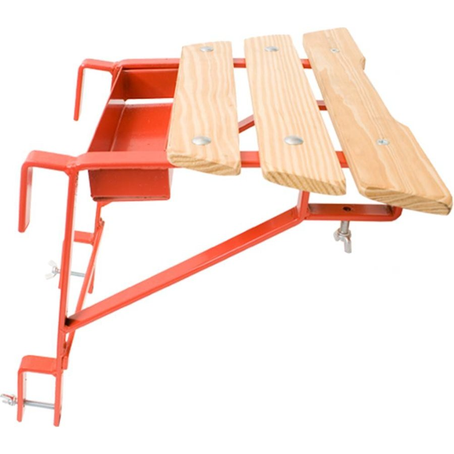 Ladderafstandhouder met bakje/ plateau