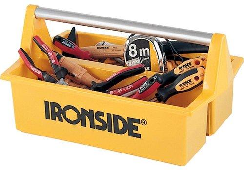 Ironside Gereedschapsbak 396x294x215 geel