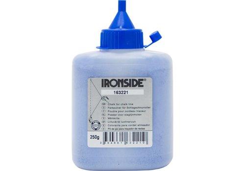 Ironside Slaglijnpoeder 250G Blauw