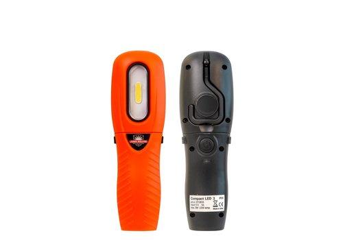 John Helper LED handlamp 250 lumen op accu - magnetisch