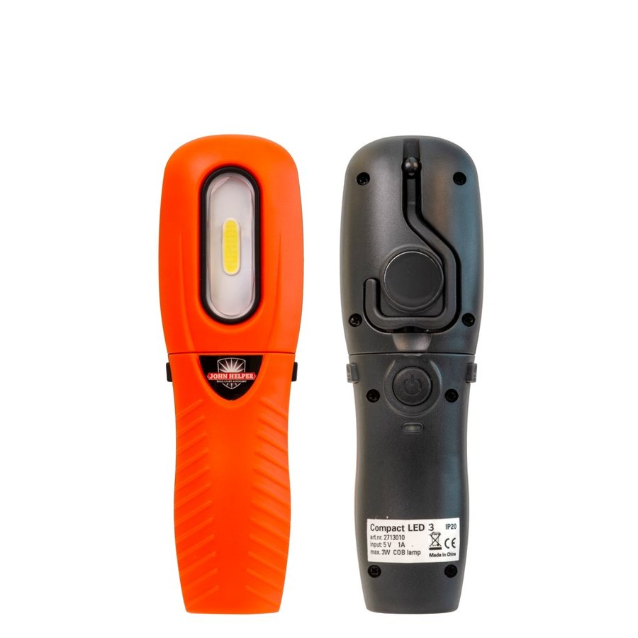 LED handlamp 250 lumen op accu - magnetisch