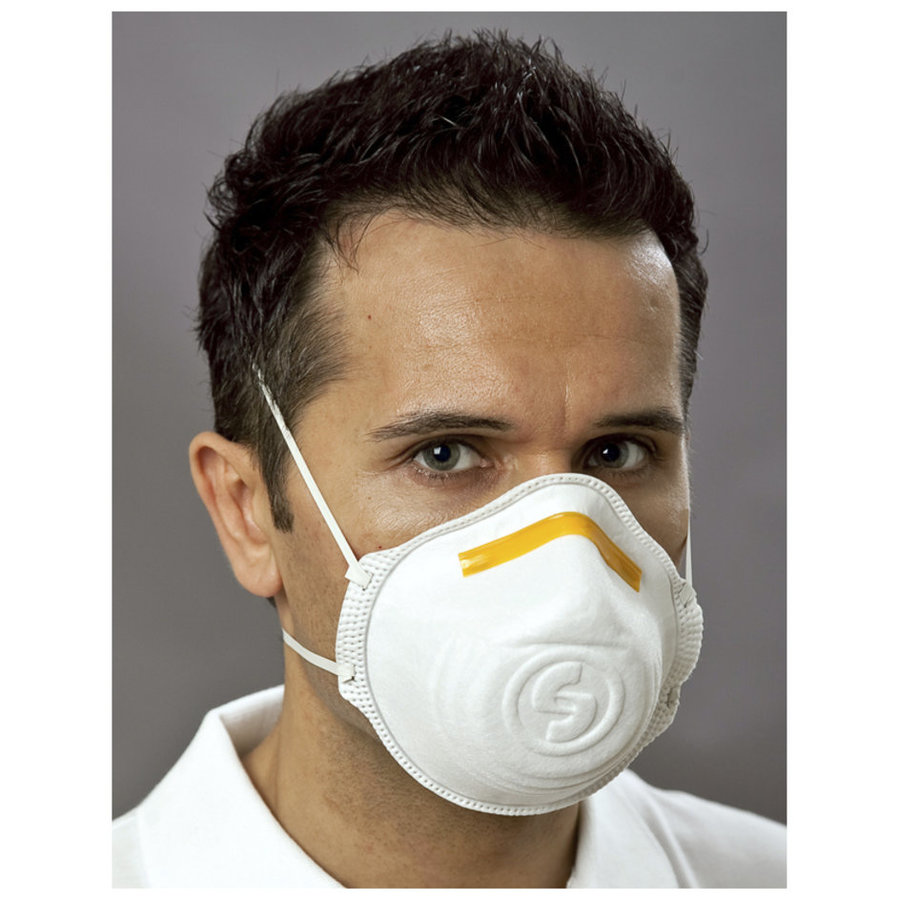 Stofmasker vouwbaar FFP1 - Set van 3 stuks