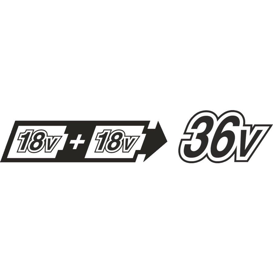 DUC353Z 2x18 V Kettingzaag 35 cm