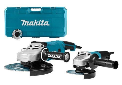 Makita DK0054X1 230V Haakse slijperset 125/230 mm