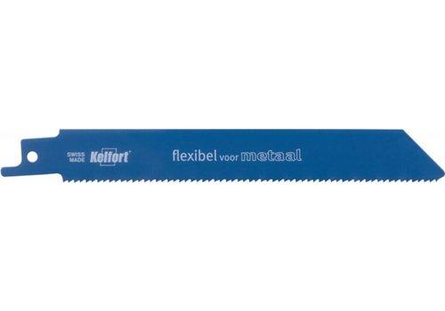 Kelfort KS922BF 5 Reciprozaagbladen flexibel voor metaal