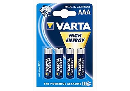 VARTA High Energy Alkaline AAA 4x blister