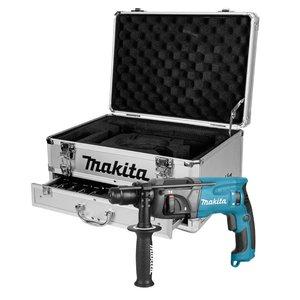Makita HR2230X4 230V Boorhamer + 14-delige borenset