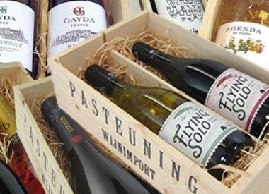 Kistjes wijn (versturen)