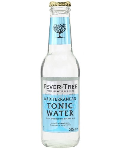Tonic Fever Tree Mediterranean Tonic 0,2 ltr