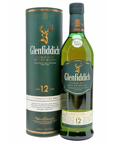 Whisky Glenfiddich 12 years old