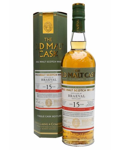 Whisky Old Cask Braeval 2001