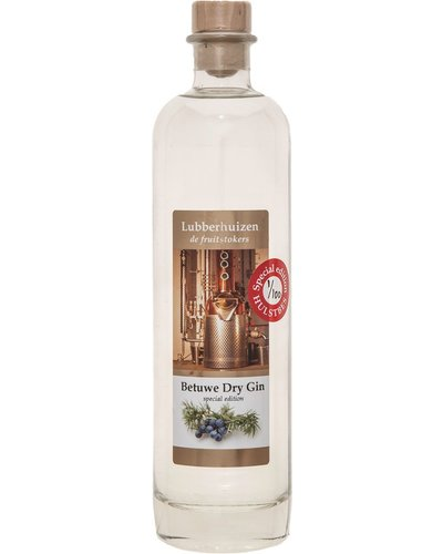 Stokerij Lubberhuizen Betuwe Dry Gin Special Edition Hulstbes