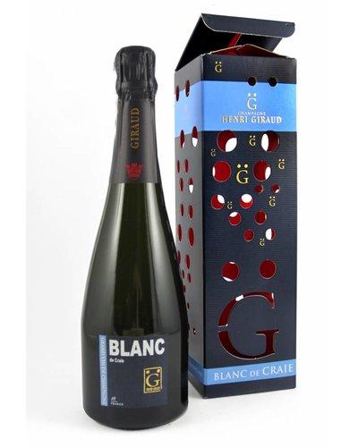 Henri Giraud Blanc de Craie Brut Magnum in geschenkverpakking