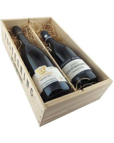 Relatiegeschenken Kistje Duitsland - Riesling & Pinot Noir