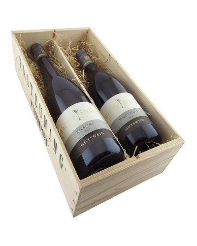 Relatiegeschenken Kistje Duitsland - Wagner-Stempel Riesling & Pinot Noir