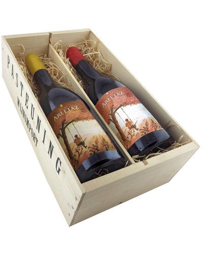 Relatiegeschenken Kistje Frankrijk - Vin Naturel Arletaz basic