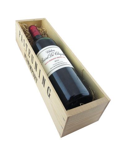 Relatiegeschenken Kistje Bordeaux - Saint Emilion Grand Cru