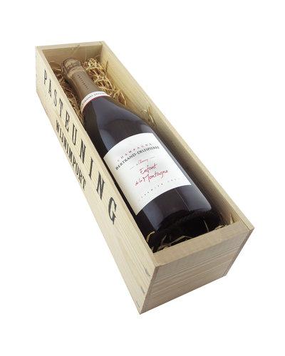 Relatiegeschenken Kistje Champagne - Bertrand Delespierre 1e cru