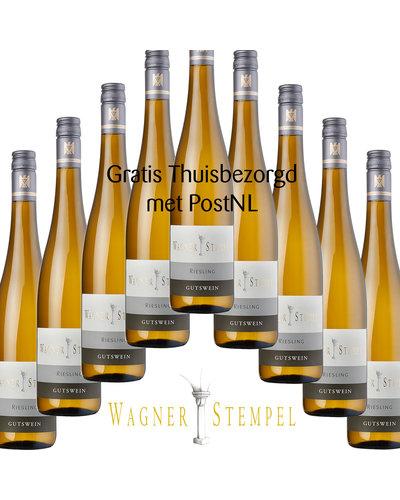 Wagner-Stempel Riesling trocken 2018 - doos à 9 flessen
