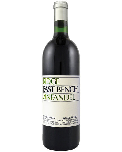 Ridge Vineyards East Bench Zinfandel 2018