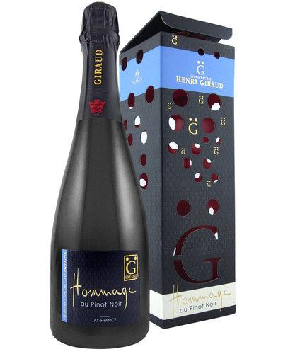 Henri Giraud Hommage au Pinot Noir  in geschenkverpakking