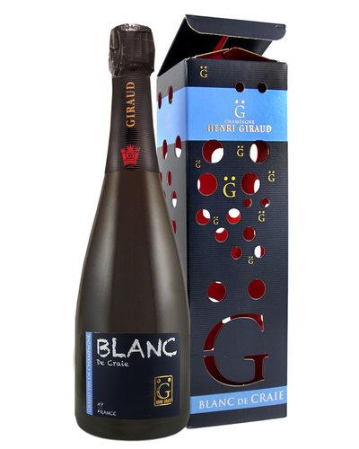 Henri Giraud Blanc de Craie Brut in geschenkverpakking