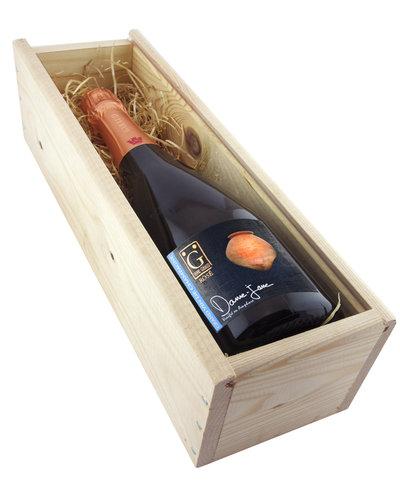 Relatiegeschenken Kistje Champagne - Henri Giraud Dame-Jane Brut Rosé