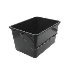 Meesterhand Paint Bucket Grey 12 liters Large