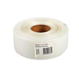 Gewebeband 50mm x 90m White Label Weiß