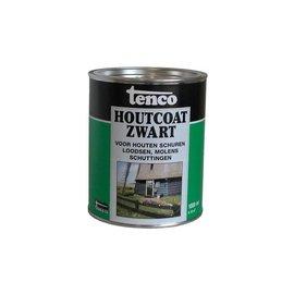 Tenco Houtcoat Zwart