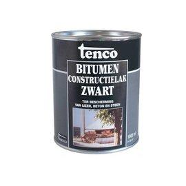 Tenco Bitumen Contstructielak Zwart 2.5 Liter