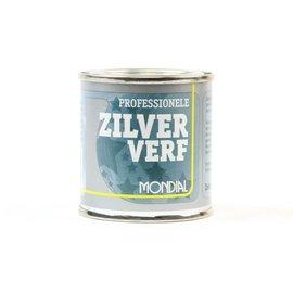 Mondial Professional Satin Silver Paint 100ml