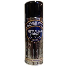 Hammerite Gehämmert Schwarz 400 ml Aerosol H160